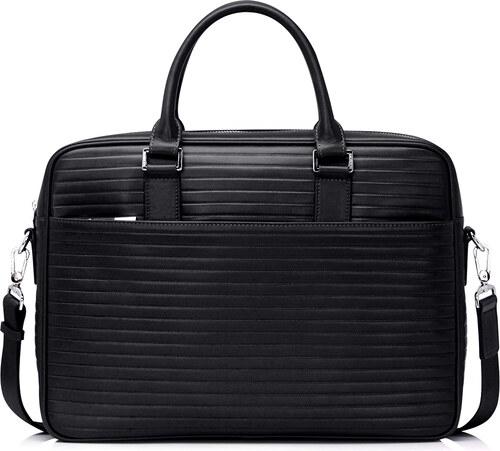 7a526963ea Luxusná pánska kožená business taška 13