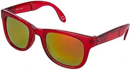 Okuliare Vans Foldable Spicol transparent red - Glami.sk 05baa7fb683