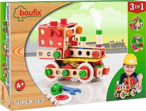 Baufix Bauset aus Holz 103-tlg., »Super Set 2«