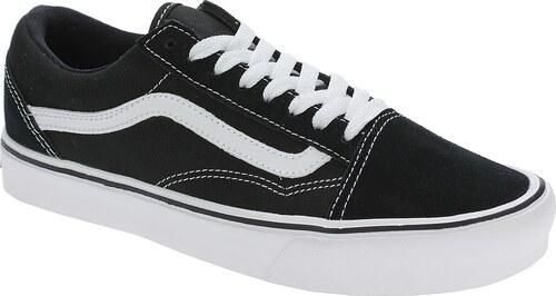 boty Vans Old Skool Lite - Suede Canvas Black White - Glami.cz 2cb5b639bf