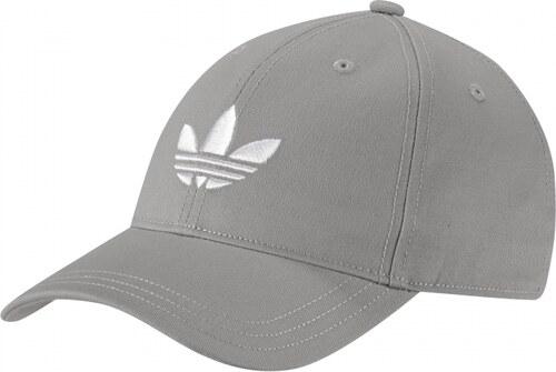 Kšiltovka adidas Originals TREFOIL CAP (Šedá   Bílá) - Glami.cz c96d4c463a