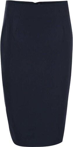 Tmavě modrá sukně do pasu Dorothy Perkins - Glami.cz 22073f7063
