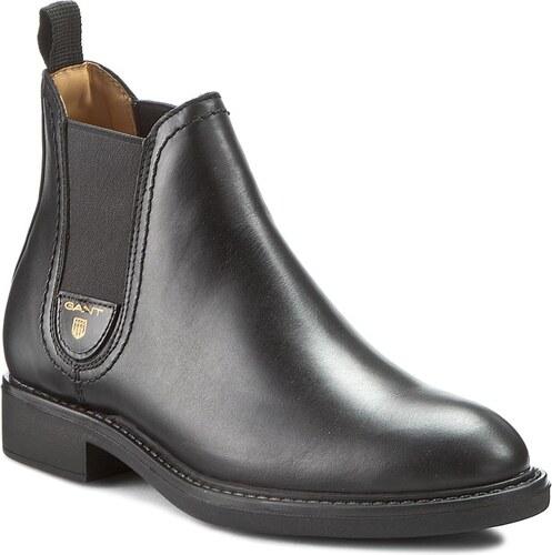 c7ab2bc8639 Kotníková obuv s elastickým prvkem GANT - Lydia 13541409 Black G00 ...
