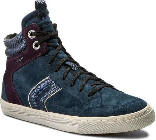 Sneakersy GEOX - D New Club A D5458A 00022 CG48H Ocean Dk Purple ... d24ab16f0d