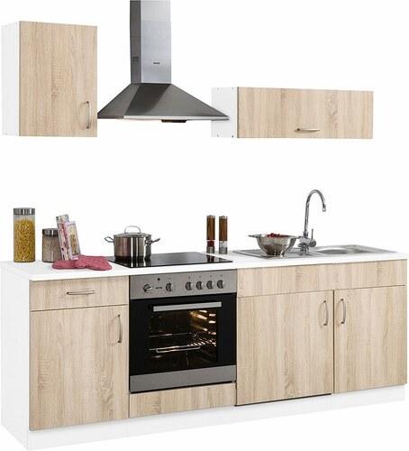 Küchenzeile »Brilon« mit E-Geräten, Breite 210 cm