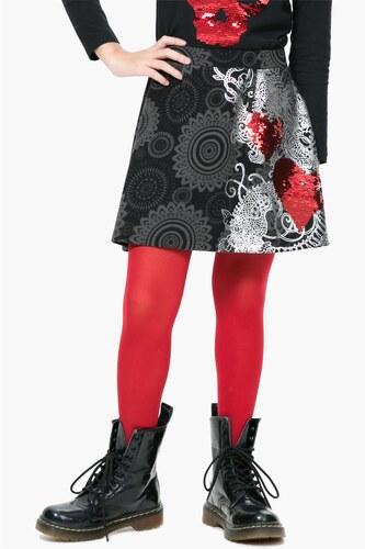 Desigual barevná dívčí sukně Genis - Glami.cz 769b7d877c