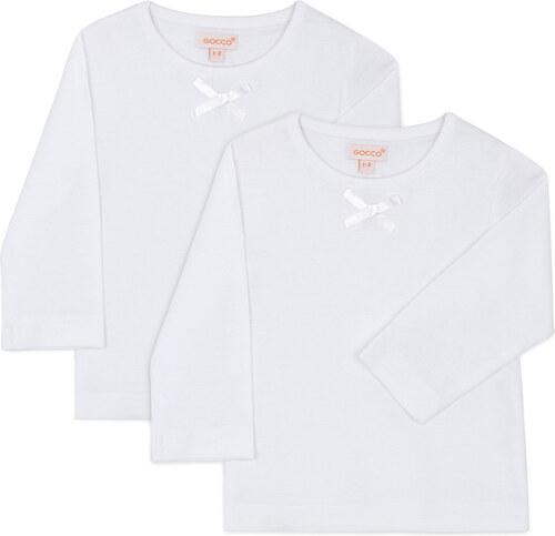 Tee Shirt Manches Longues - Blanc