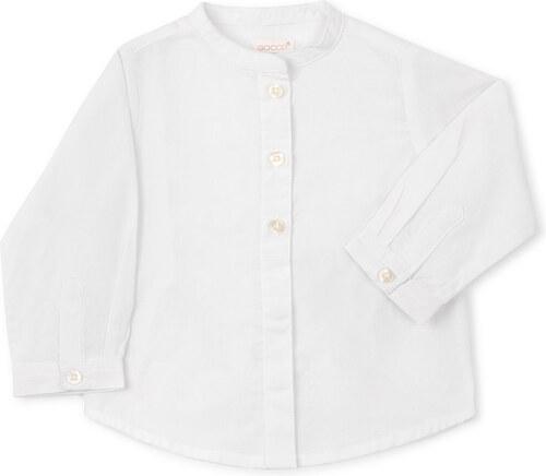 Chemise Patte de Boutonnage Dissimulée - Blanc