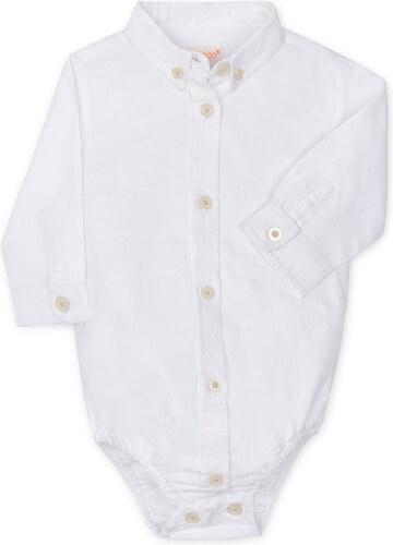 Tee Shirt Body Manches Longues - Blanc