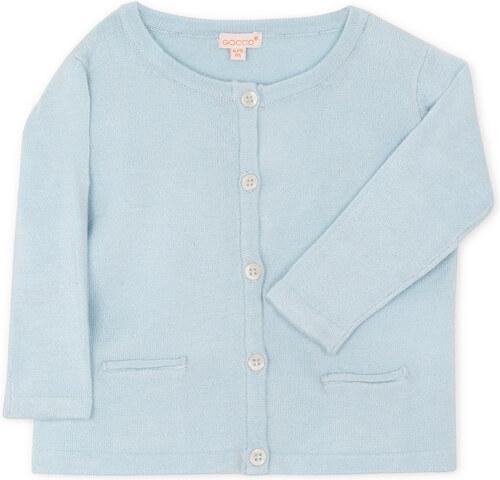 Veste poches bleu ciel
