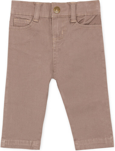 Pantalon Cinq Poches – Gris Taupe Clair