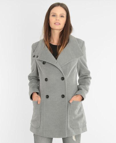 gekn pfter mantel grau meliert gr e 38 pimkie mode f r. Black Bedroom Furniture Sets. Home Design Ideas