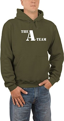 Touchlines Herren Kapuzen Sweatshirt A-Team