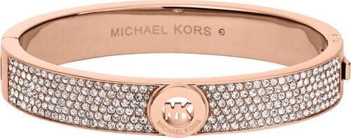Michael Kors Luxusné bronzový náramok s kryštálmi MKJ4000791 - Glami.sk 171b0c4de6c