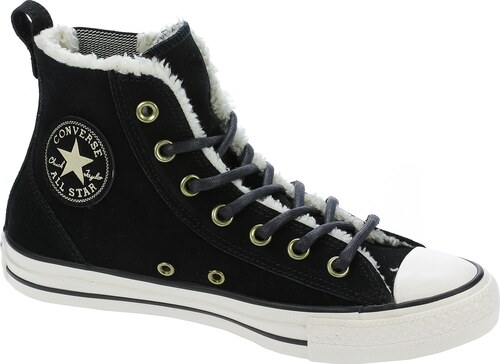 83cbfc75470 boty Converse Chuck Taylor All Star Chelsee Material Suede -  549599 Black Natural Egret 37