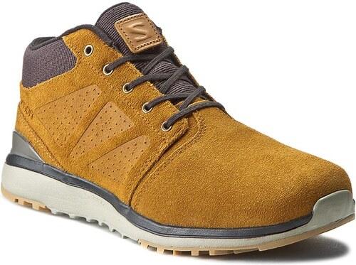Trekingová obuv SALOMON - Utility Chukka Ts Wr 381223 26 V0 Rawhide  Ltr Asphalt  336d71c1e60