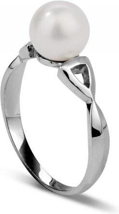 2da39c5a7 Eppi Zlatý prsten s perlou Bansari - Glami.cz
