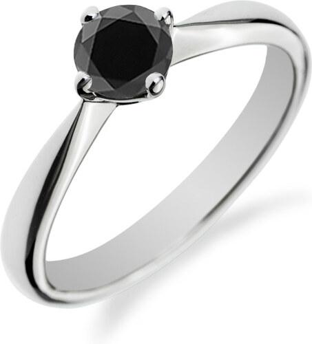 Eppi Zásnubní prsten s černým diamantem Owyna - Glami.cz cec21b36ce1