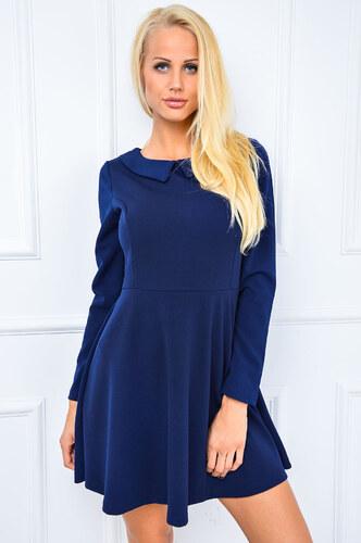 e4ec40c6037f Námornícke šaty s dlhým rukávom - 84034 odtiene farieb  modrá - Glami.sk