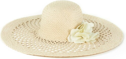 9121b99f613 Art of Polo Béžový široký klobouk na léto Ascot - Glami.cz