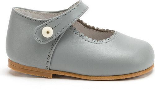 Souliers semelle rigide gris