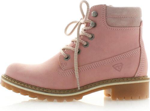 Světle růžové kotníkové boty Tamaris 25242 - Glami.cz cb22cffa20