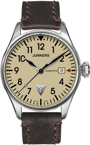 Junkers Cockpit Ju 52 6144-5 Pánské hodinky - Glami.cz e478b9ef44e