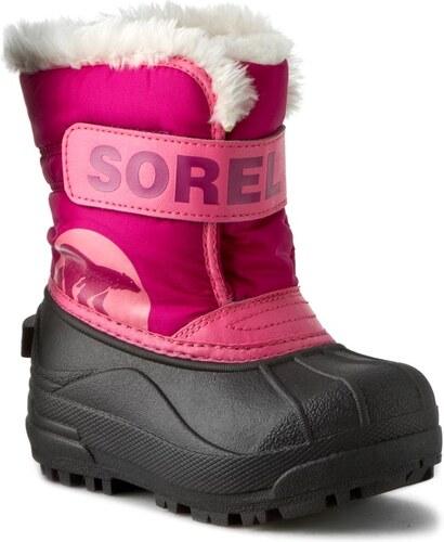 -20% Sněhule SOREL - Childrens Snow Commander NC1877 Tropic Pink Deep Blush  652 2eadb91b11