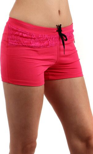 YooY Teplákové mini šortky (růžová c9a594dc80