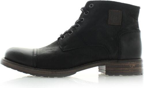4d18637958f Pánské černé kotníkové boty Marc O Polo 21666301 - Glami.cz