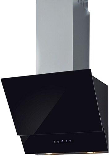 Glasschirm-Dunstabzugshaube in 60 und 90 cm