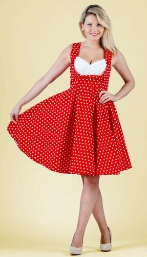 5b51ec725099 Dolly and Dotty retro šaty Grace s puntíky