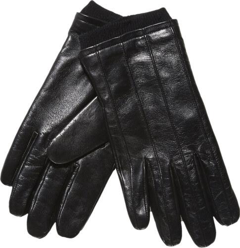 Baťa Kožené rukavice s úpletem - Glami.cz d849fb09e7