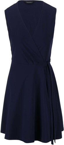 Tmavě modré zavinovací šaty Dorothy Perkins - Glami.cz 6ae5a12115
