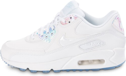 nike air max 90 firefly rose blanche femme baskets