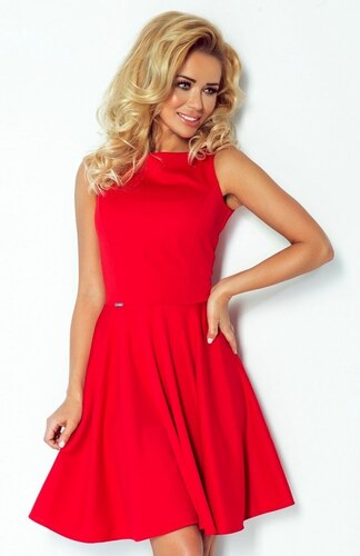 6899cd28f93 NUMOCO Dámské elegantní šaty Lacoste červené - Glami.cz
