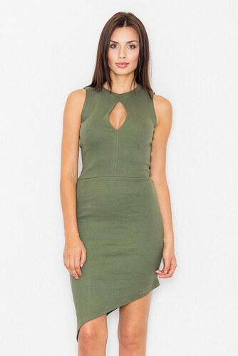 18b1f5c65483 Figl Zelené šaty M486 - Glami.sk