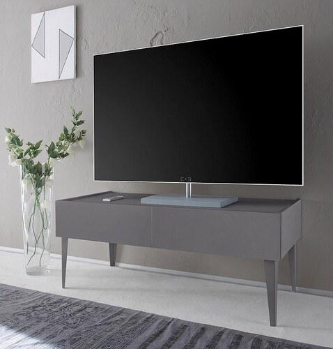 TV-Lowboard »Zela« mit 2 Schubladen, mit Füßen, Breite 123 cm
