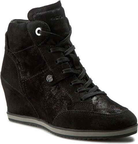 969ab7829cd Sneakersy GEOX - D Illusion A D4454A 0MA22 C9999 Černá - Glami.cz