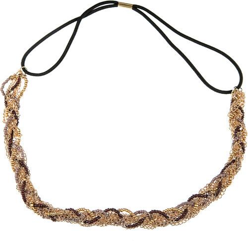 Fashion Icon Čelenky do vlasů s korálky propletené barevné - Glami.cz 2ceeba3c52