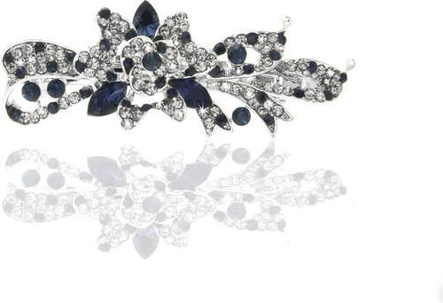 Fashion Icon Spona do vlasů květina s lístky SV0017-05 - Glami.cz bc86a1427b