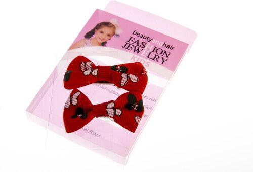 144f21944a5 Fashion Icon Dívčí sponky do vlasů se zoubky mašle Minnie DM0012-1303