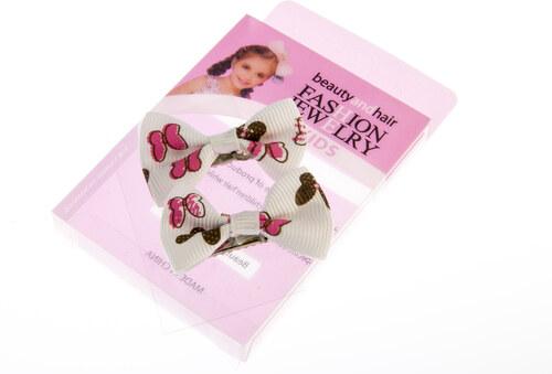 26262d675a3 Fashion Icon Dívčí sponky do vlasů se zoubky mašle Minnie DM0012-1301