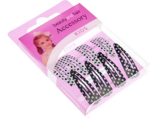 61cc0317487 Fashion Icon Dětské dívčí sponky do vlasů puntík - malé DM0005-0302 ...