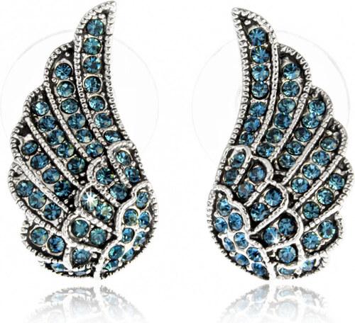 Fashion Icon Náušnice andělská křídla s krystalky NE0687-0305 - Glami.cz 2da28b033c8