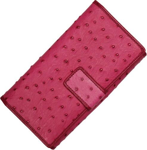 kožené peněženky 7046 Fuxia Struzza