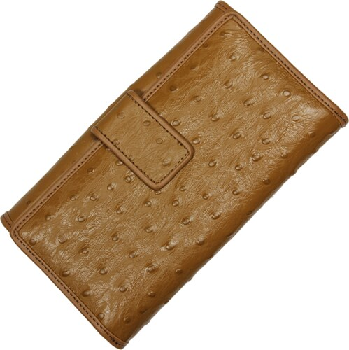 kožená peněženka 7046 Taupe Struzza