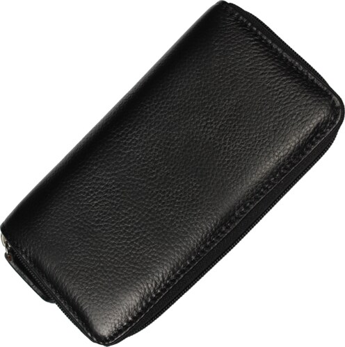 levné kožené peněženky WB005 Nero