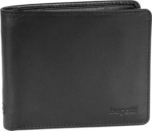 Bugatti Pánská kožená peněženka PRIMO 49108101 černá - Glami.cz 024291b659