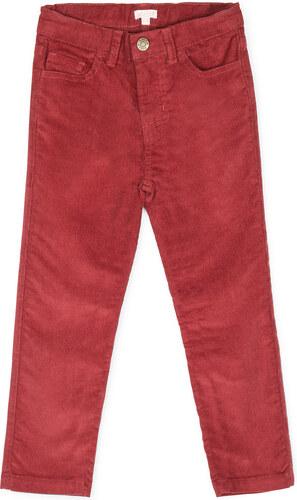 Pantalon cinq poches cuivre